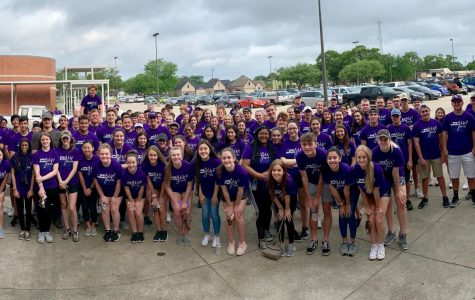 More than 140 students participated in PN-G's second Indians Give service event, taking part in a dozen various project in locations throughout the community on Saturday, May 18.