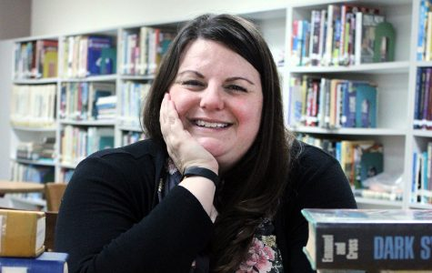 Candace Curran is the new head librarian at PN-G.