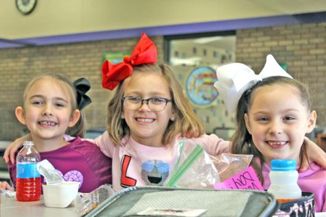 Students celebrate Valentine
