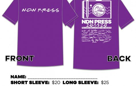 NDN Press T-shirts now on sale