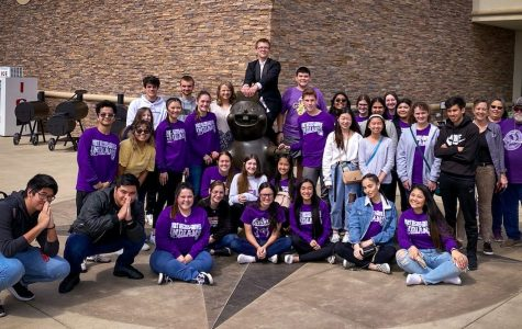 The PN-G UIL Academic team during an afternoon break in Waller.