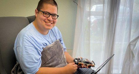 Anthony Hernandez: An #NDNSatHOME Story